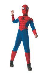 Фото Костюм Человек-паук с мускулами для мальчика