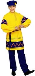 Фото Русский народный костюм Яков желтый
