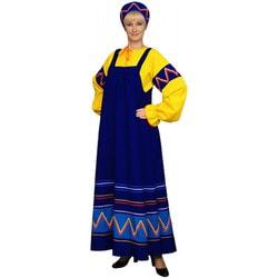 Фото Русский народный костюм Ульяна синий