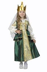 Фото Костюм Царевна-Лягушка зелёный детский
