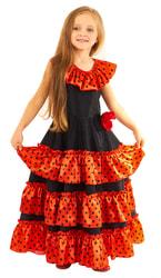 Фото Костюм Испанка в длинном платье детский