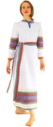 Фото Купеческая рубаха-платье женская
