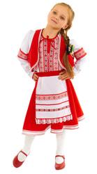 Фото Костюм плясовой Белорусский для девочки