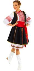 Фото Костюм плясовой Молдавский женский