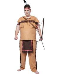 Фото Костюм родный американский индеец, большой размер, взрослый