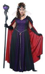 Фото Костюм Злая королева из сказки (большой размер) взрослый