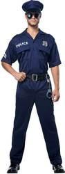 Фото Костюм Американский полицейский (большой размер) взрослый