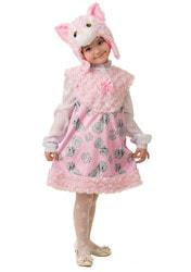 Фото Костюм Кошечка Муся розовый детский