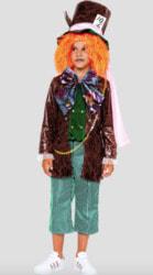 Фото Костюм Безумный Шляпник (кожзам, бархат) детский