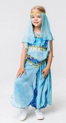 Фото Костюм Восточная Красавица в голубом детский