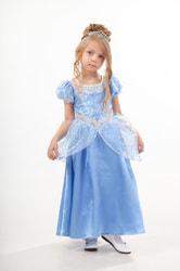 Фото Костюм Золушка в голубом детский