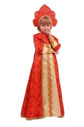 Фото Костюм Царевна Марья в длинном платье детский