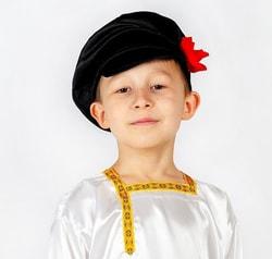 Фото Картуз Ванюша черный детский