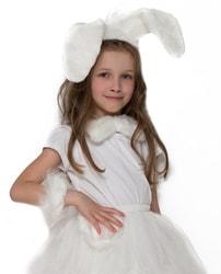 Фото Набор Зайка белый детский