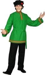 Фото Костюм Иван с зеленой рубахой взрослый