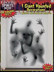 Фото Декорация Плакат на окно Призраки