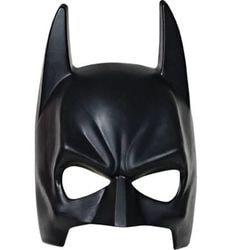 Фото Маска Бэтмен чёрная на резинке взрослая