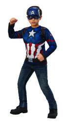 Фото Костюм Капитан Америка упрощённый детский