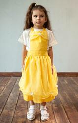Фото Фартук Принцесса Белль желтый детский