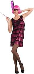 Фото Костюм Бродвейская малышка в розовом взрослый