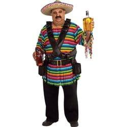 Фото Костюм Веселый мексиканец (большой размер) взрослый