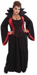 Костюм Вампирша в черном (большой размер) взрослый