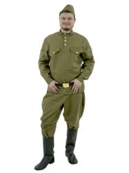 Фото Костюм Гимнастерка с брюками взрослый