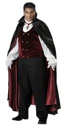 Фото Костюм Готический вампир (большой размер) взрослый