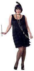 Фото Костюм Девушка из джаза (большой размер) взрослый