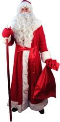 Фото Костюм Дед Мороз трикотажный взрослый