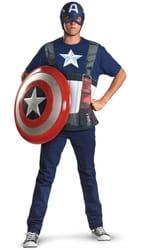 Фото Костюм Капитан Америка (упрощенный) взрослый