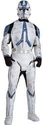 Фото Костюм Клон Трупер с накладками (Звездные войны) взрослый