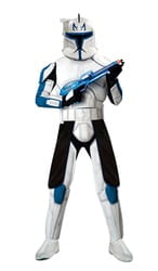 Фото Костюм Клон Трупер Капитан Рекс с накладками (Звездные войны) взрослый