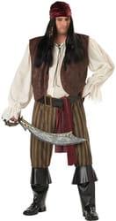 Фото Костюм Коварный пират (большой размер) взрослый