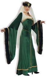 Фото Костюм Королева эпохи возрождения deluxe (зеленая) взрослый