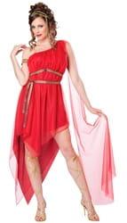 Фото Костюм Богиня Афродита в красном взрослый
