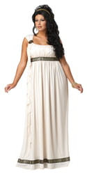Фото Костюм Богиня Олимпа (большой размер) взрослый