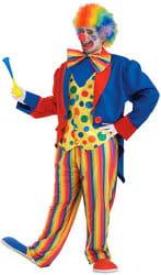 Фото Костюм клоуна-весельчака взрослый