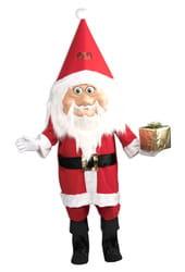 Фото Костюм ростовая кукла Добрый Санта взрослый