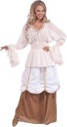Фото Костюм Средневековая блуза (большой размер) взрослый