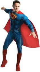 Фото Костюм Супермен deluxe (Человек из стали) взрослый