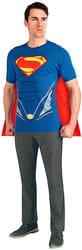 Фото Костюм Супермен в футболке взрослый