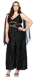 Фото Костюм Темная греческая богиня (большой размер) взрослый
