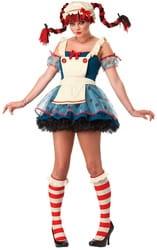 Фото Костюм Тряпичная кукла с фартуком взрослый