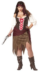 Фото Костюм Красавица-пиратка (большой размер) взрослый