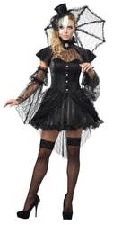 Фото Костюм Кукла в черном платье взрослый
