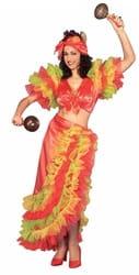 Фото Костюм Латинская танцовщица взрослый