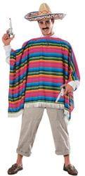 Фото Костюм Мексиканец в сомбреро взрослый