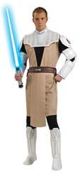 Фото Костюм Оби Ван Кеноби с накладками (Звездные войны) взрослый