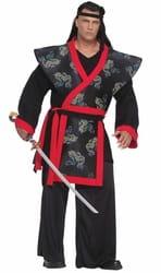 Фото Костюм Опасный самурай взрослый